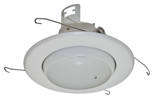 "(EB5/W) Eyeball White for 5"" Recessed Can"