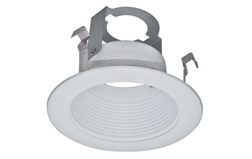 "(SB4/W) Stepped Baffle White for 4"" Recessed Can"