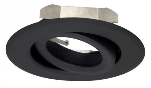 """(GR4/B) Gimbal Ring Black for 4"""" Recessed Can"""