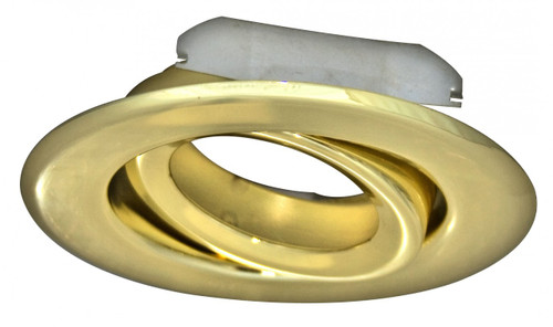 "(GR4/BRASS) Gimbal Ring Brass for 4"" Recessed Can"