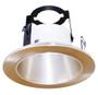 "(OR4/SATIN NICKEL) 4"" Line Voltage Open Reflector With Bracket"