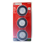 Utilitech LED Puck Lights 3000K Black