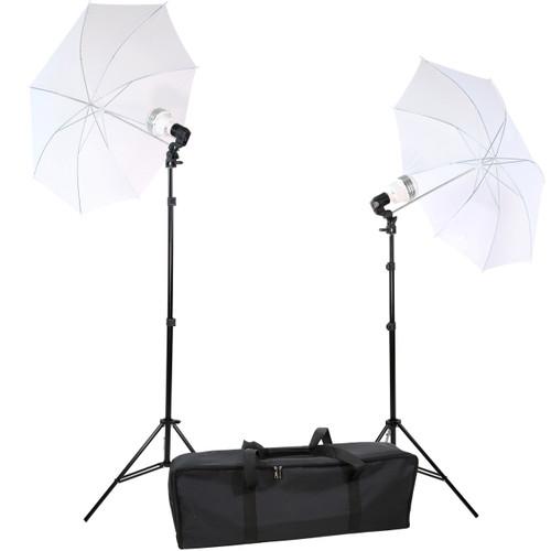 Diva Ring Light 2 Light Umbrella Kit