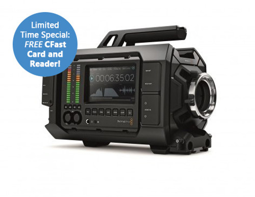 Blackmagic Design URSA 4k with FREE 128GB CFast 2.0 and USB 3.0!