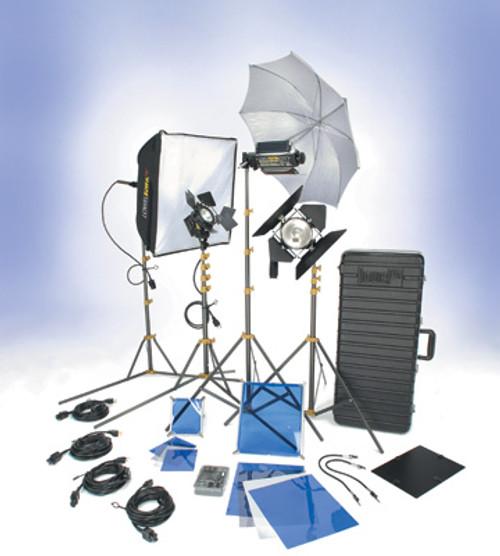Lowel DVcreator Kit 55 (with hard case & lamps) by Lowel