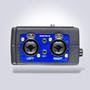 Beachtek DXA-SLR ULTRA - 2-Channel Active XLR Adapter Side