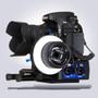Beachtek DXA-SLR ULTRA - 2-Channel Active XLR Adapter In Use