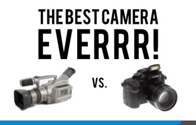 The Best Camera Ever! 20 years of Corporate Video Cameras