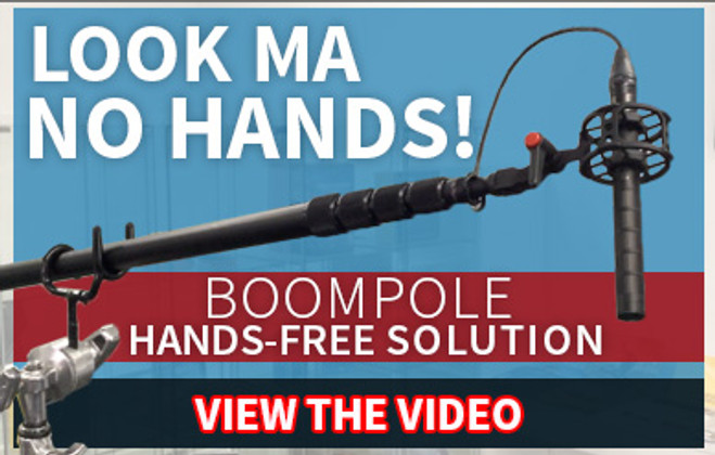 Boompole hands free solution