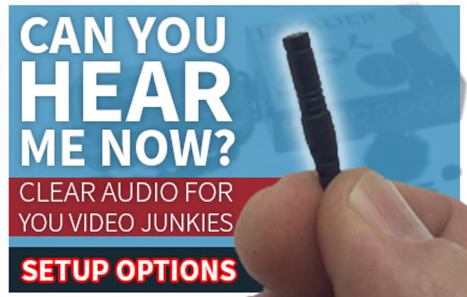 Clear Audio For You Video Junkies