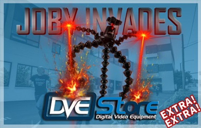 Joby Invades DVE Store