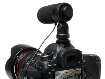 DR60DmkII Stereo Mic Mounted