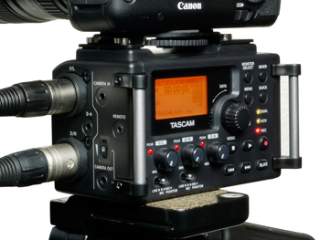 DR60DmkII with camera stand
