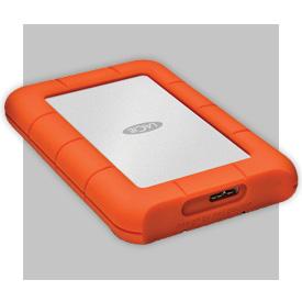 LaCie Rugged Mini Disk 3.0 Hard Drive - 1TB