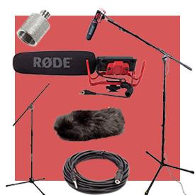 Rode VideoMic Microphone Studio Boom Kits
