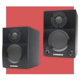 Samson MediaOne BT3 Two-Way Active Bluetooth Monitors (Pair)