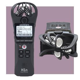 Zoom H1n Digital Handy Recorder (Black)