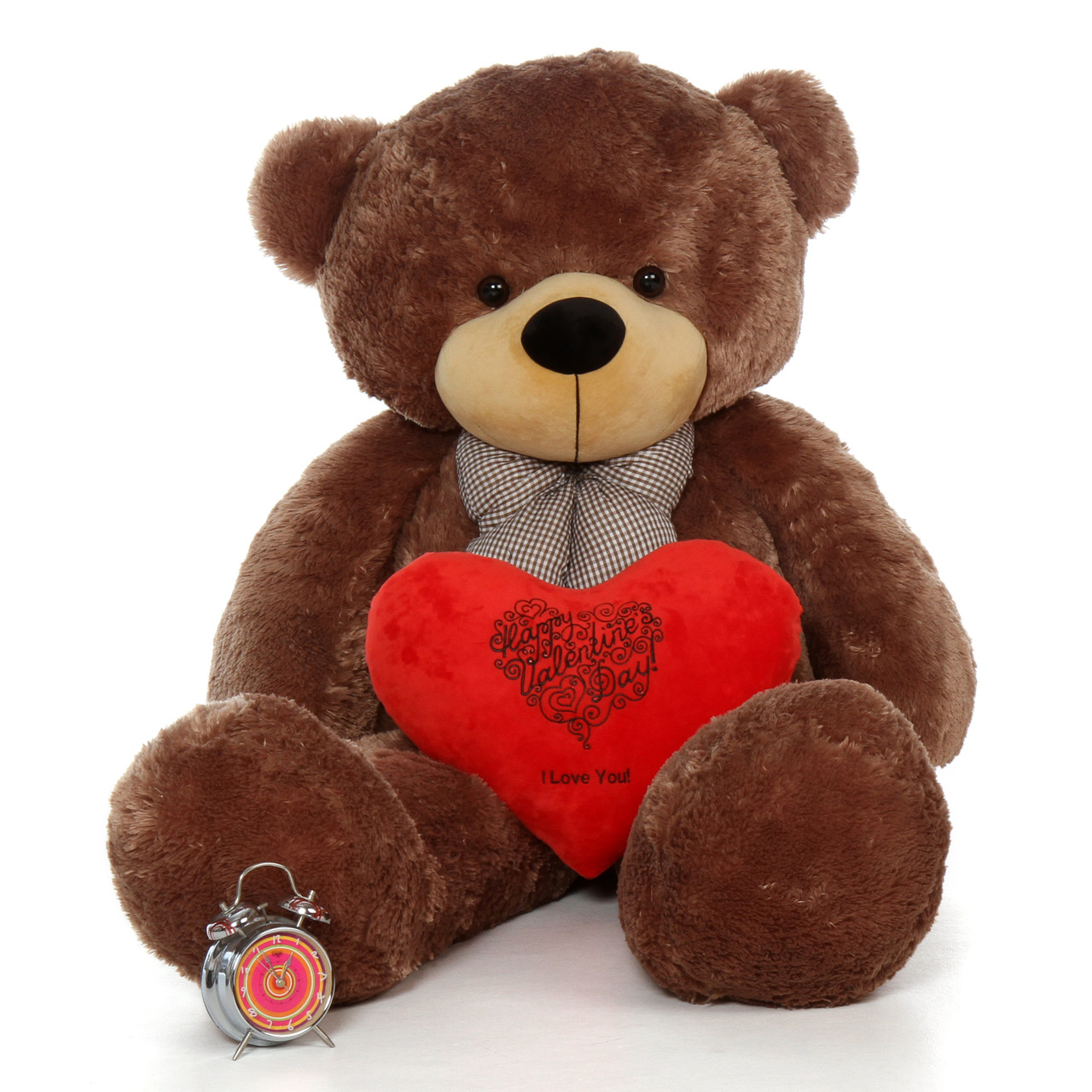 60in Happy Valentine S Day I Love You Teddy Bear Sunny With Red