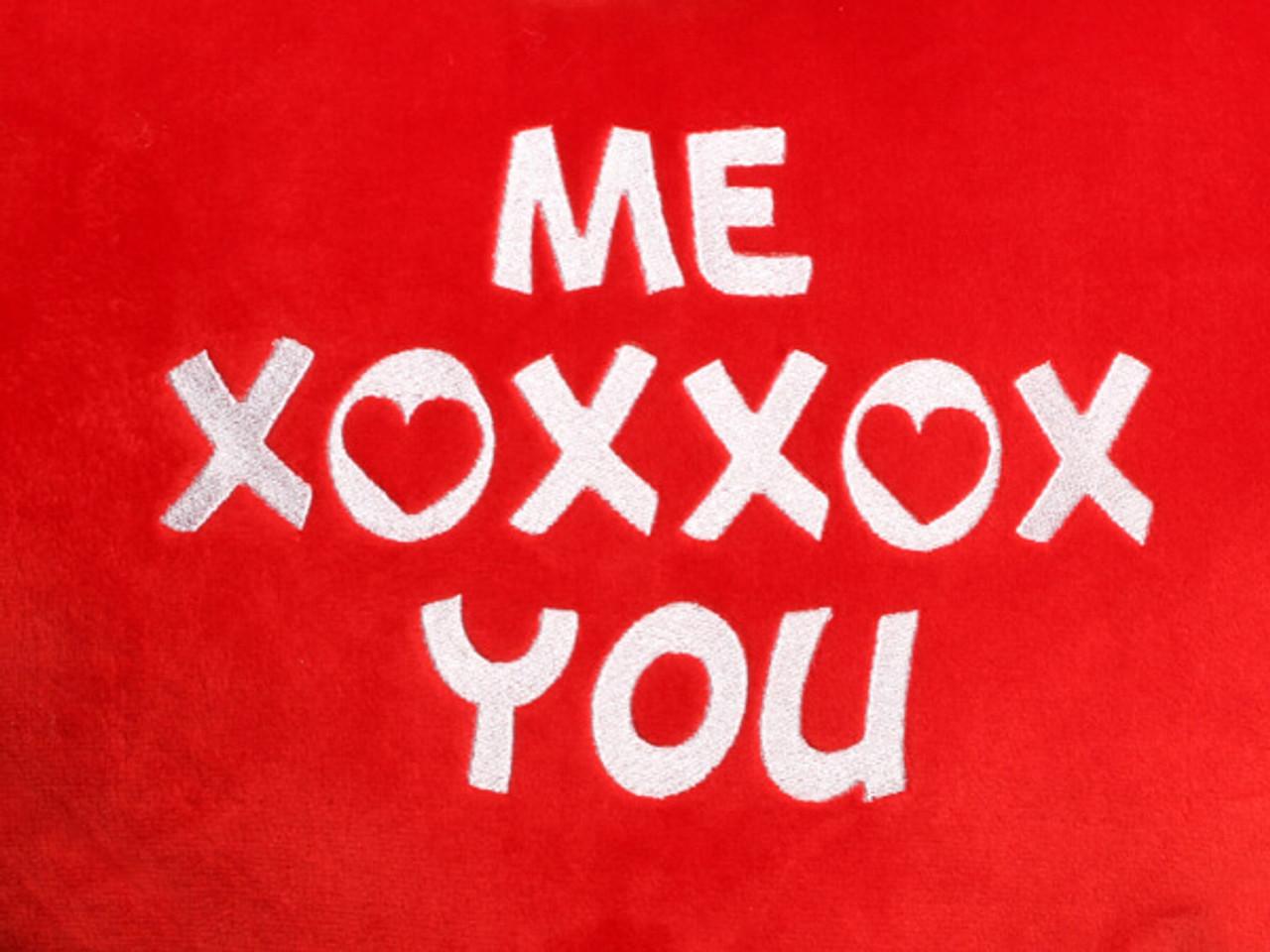 Me XOXXOX You Heart Design(Close Up)