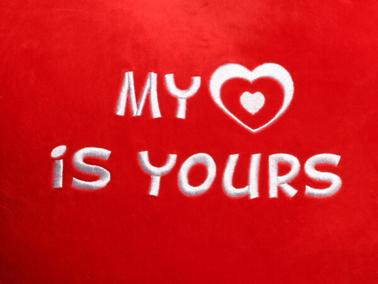 My Heart is Yours Heart Design (Close Up)