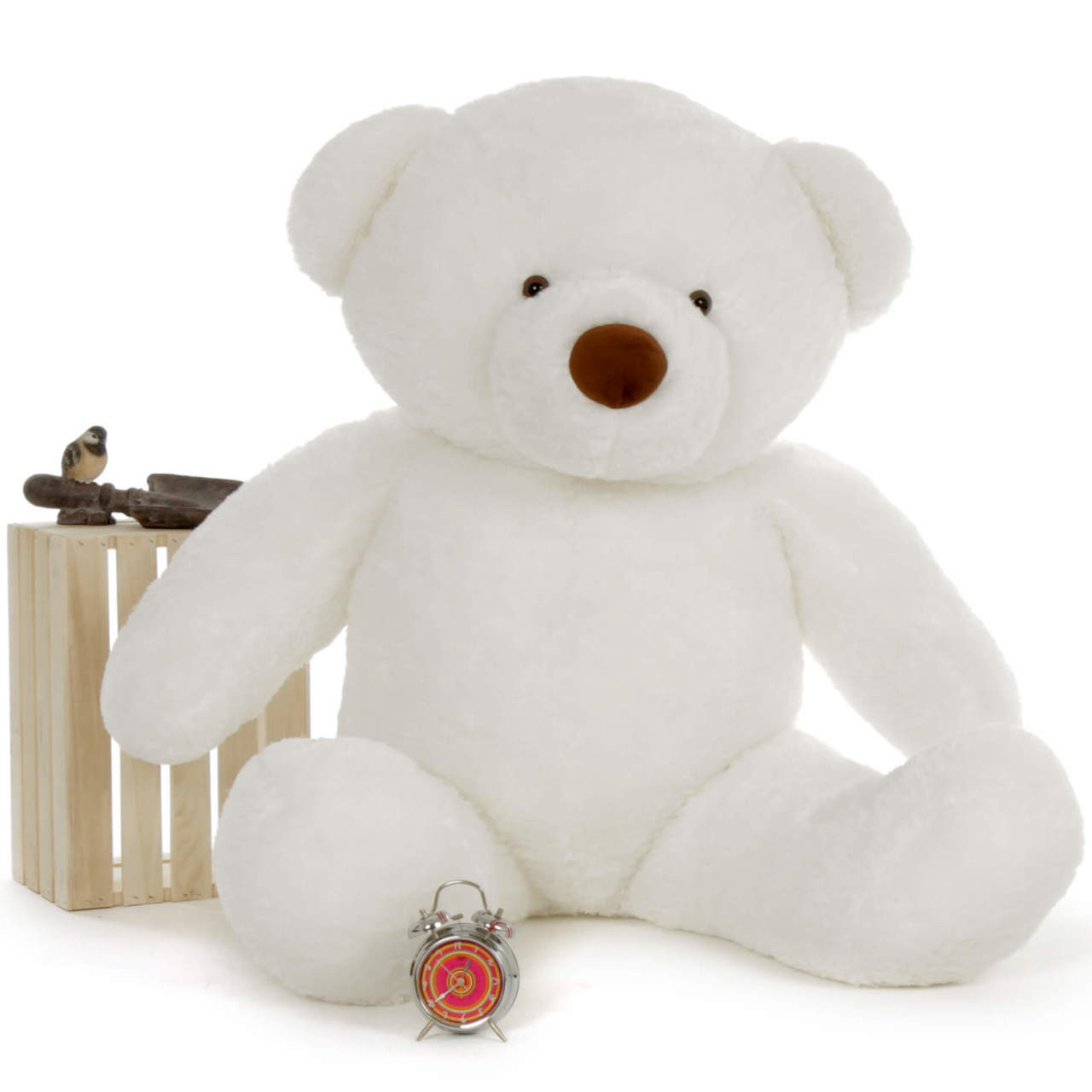 Heavenly White 5 Foot Giant Teddy Bear
