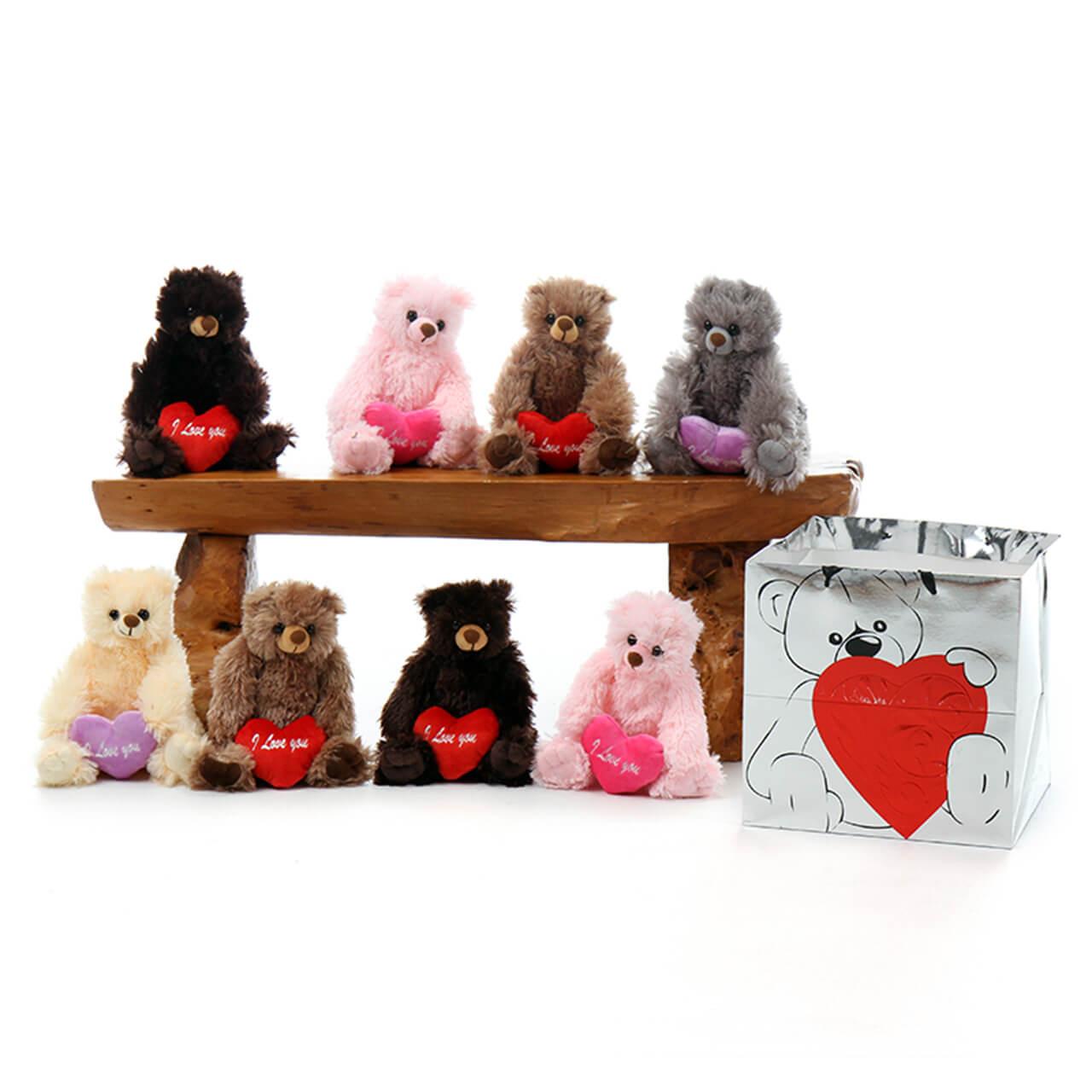 Giant Teddy Deal! 8 Teddy Bears for great price!