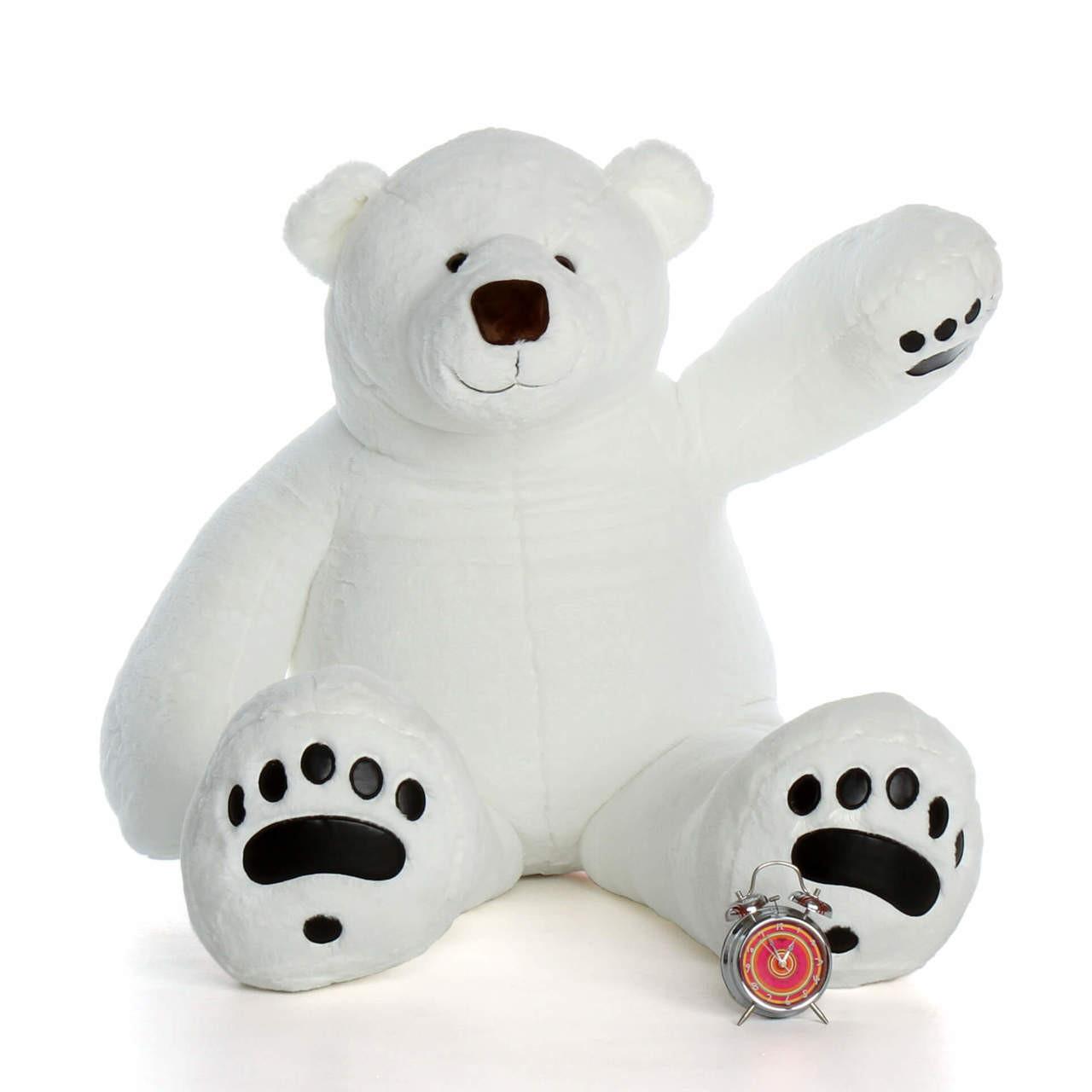 Giant Teddy Brand 6 Foot Polar Bear