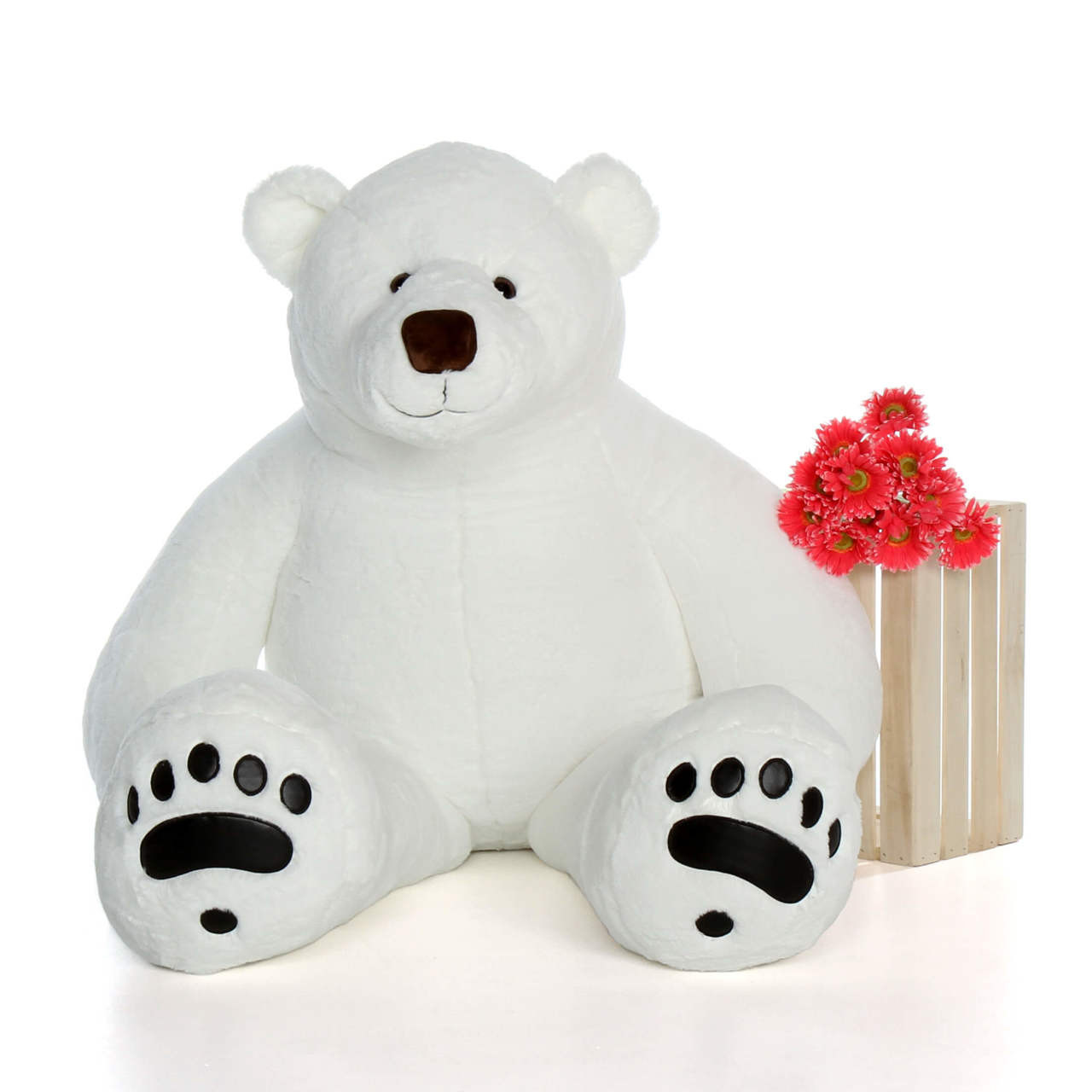 Giant Stuffed Animal Polar Bear 72 inch