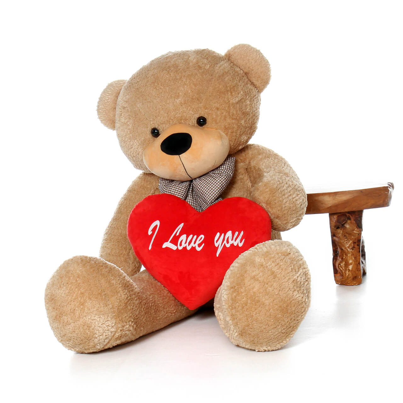 I Love You Red Plush Pillow Heart Valentine's Day Gift