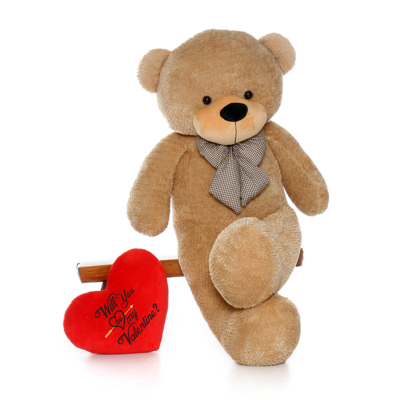 Will you be my Valentine Gift for Girlfriend Plush Pillow Heart
