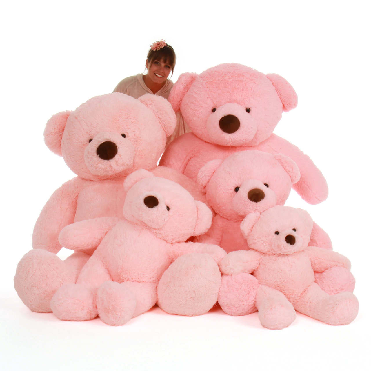 Pink Gigi Chubs Family