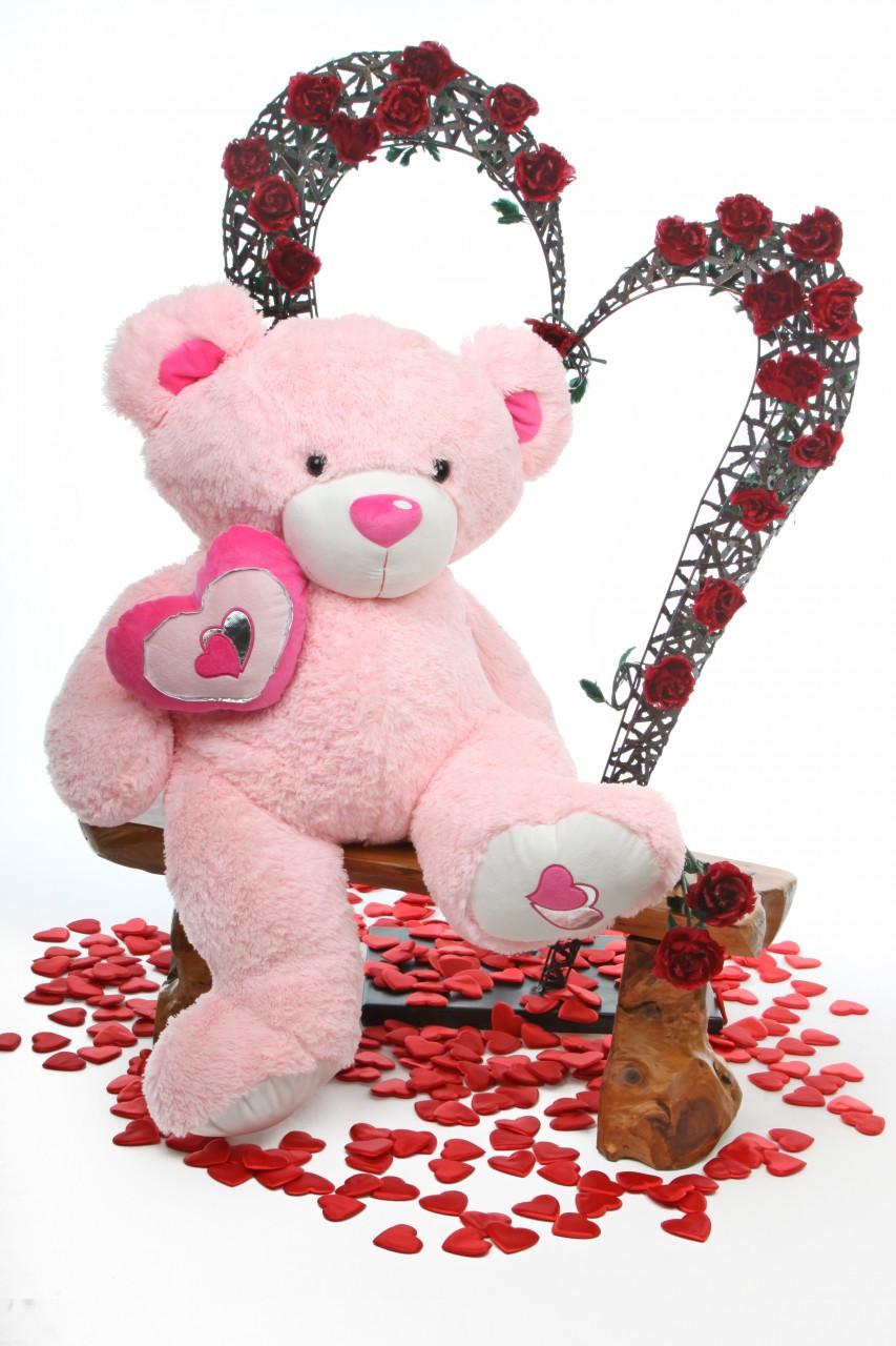 Pink Cutie Pie Big Love Teddy Bear 4ft