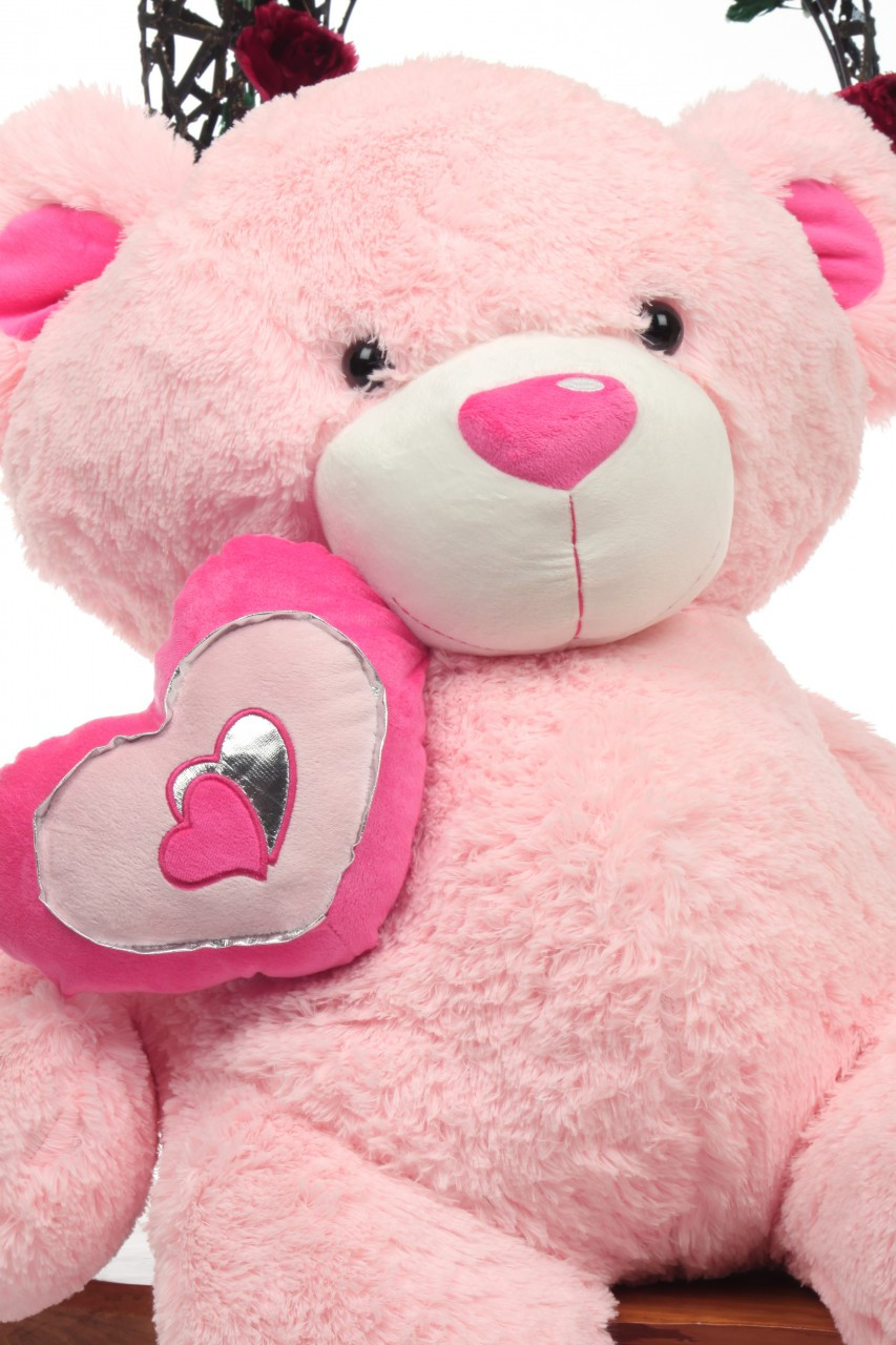 42in Pink Cutie Pie Big Love Teddy Bear