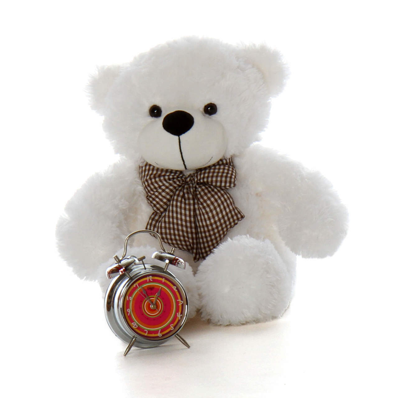 2ft Big White Teddy Bear Coco Cuddles Super Soft Fur