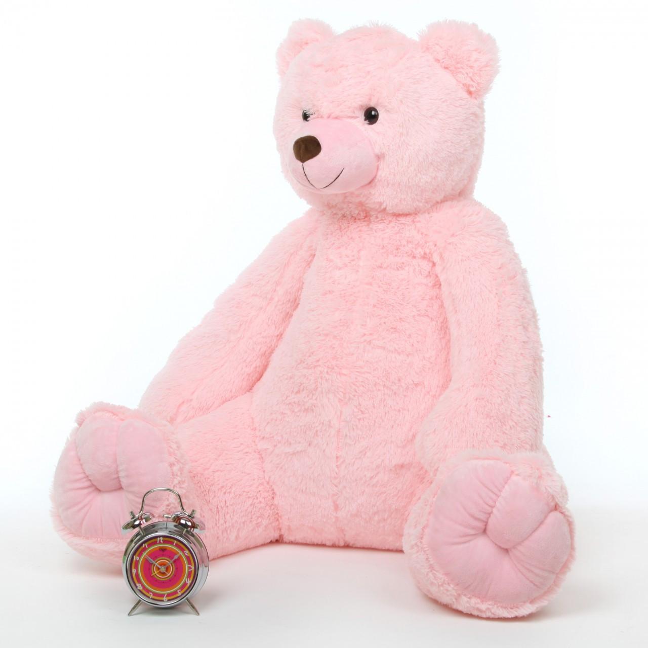 darling tubs 42 pink jumbo stuffed teddy bear giant teddy bear