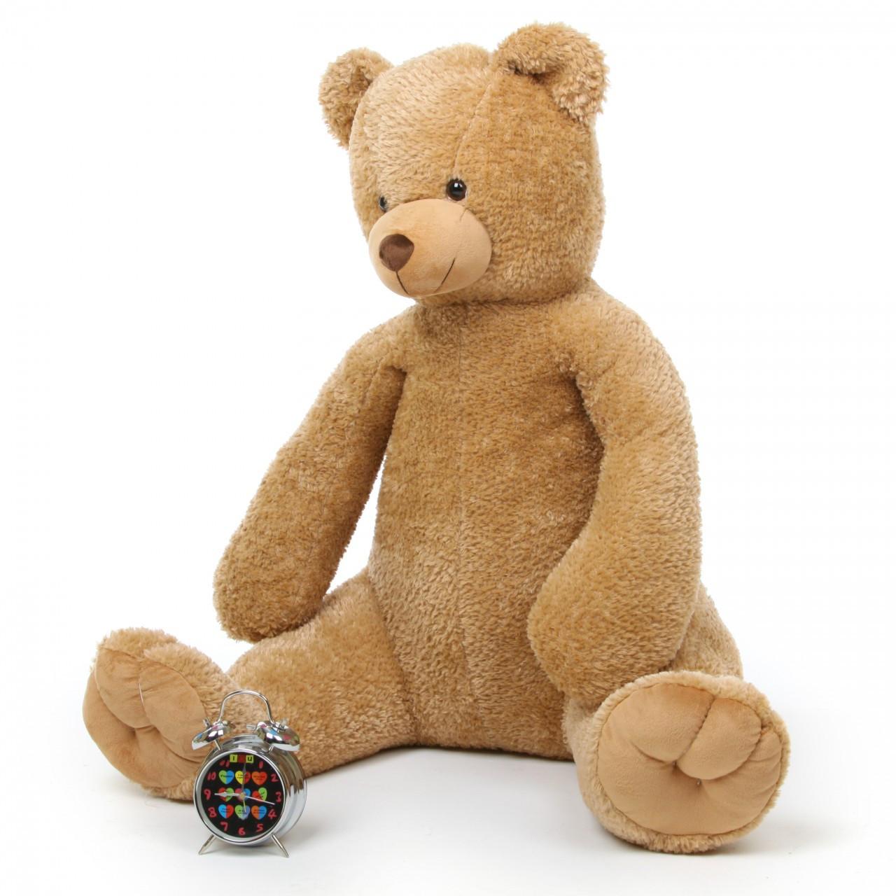 Huge 42in Amber Honey Tubs Teddy Bear