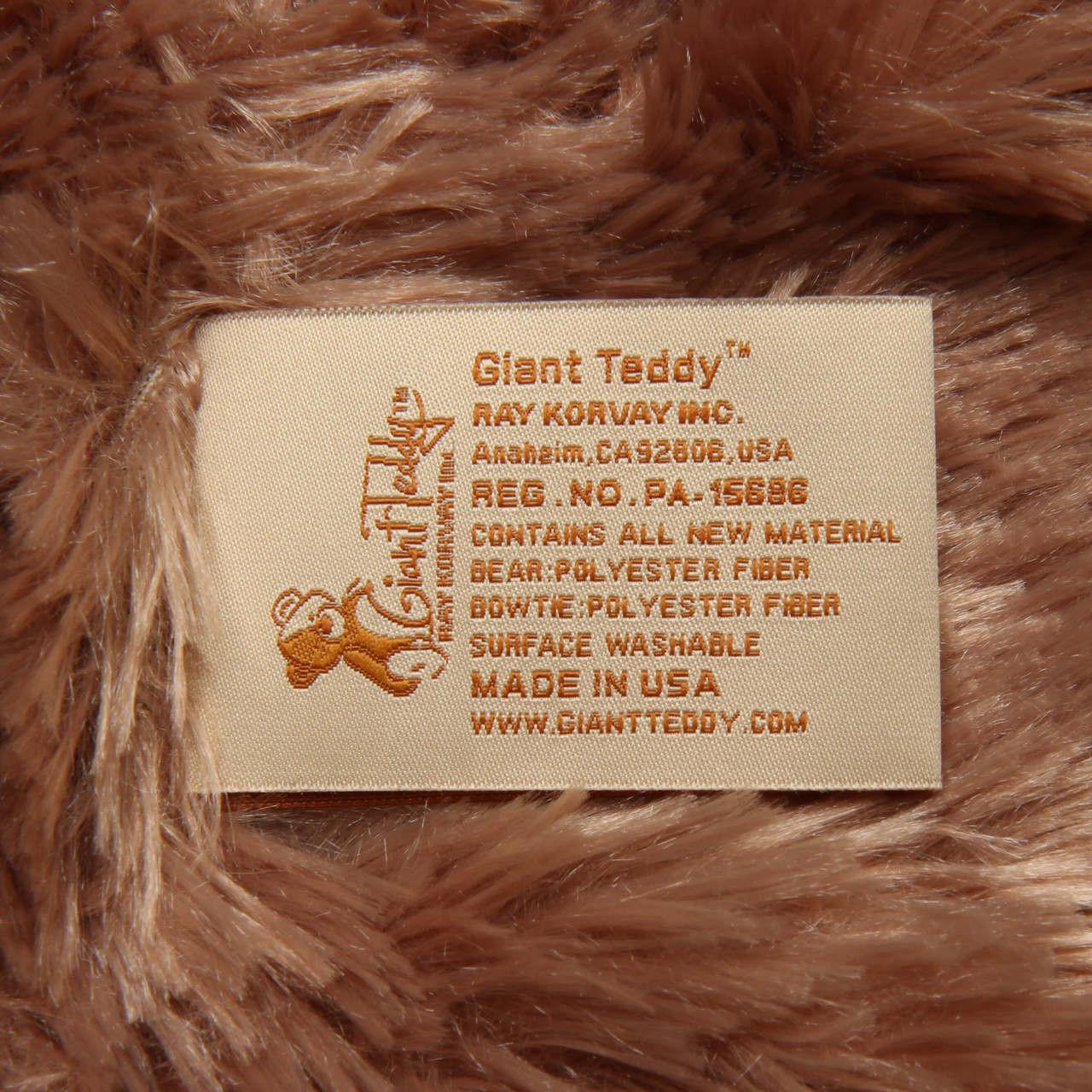 Giant Teddy Tag 2017