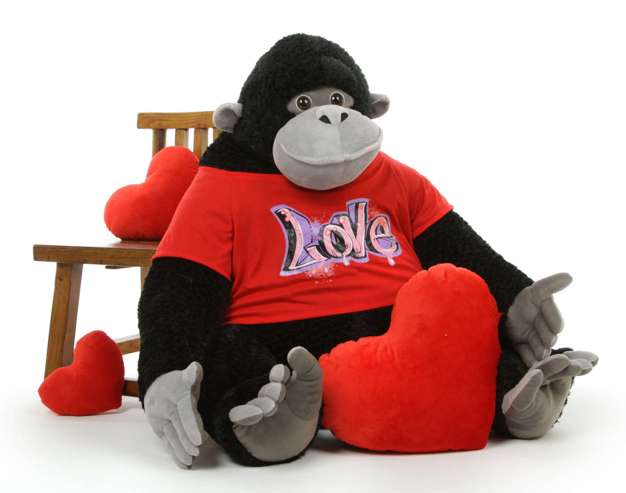 Free Gift with Purchase #1 - 13 inch Plush Red Heart Pillow!
