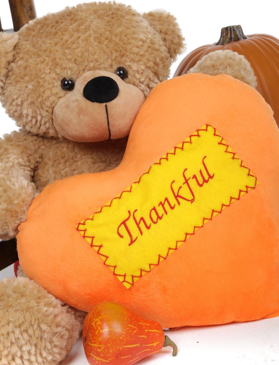 Traditional Thanksgiving Teddy Bear 2 Foot
