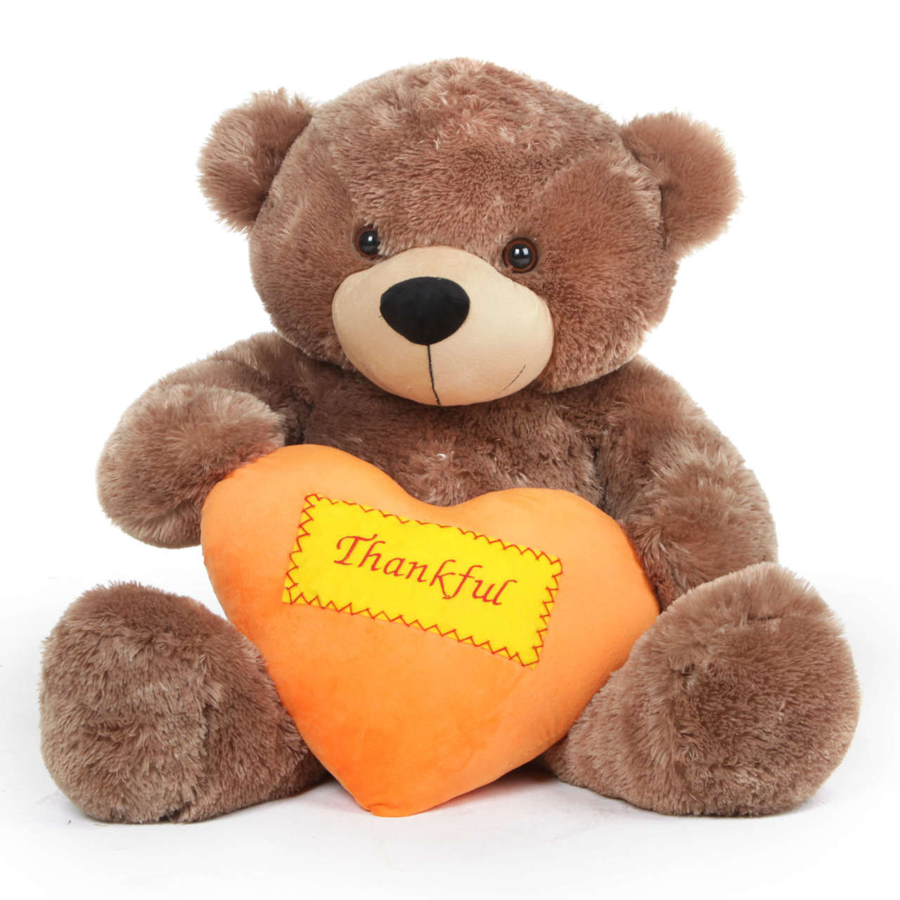Big Brown Thanksgiving Teddy Bear Gift