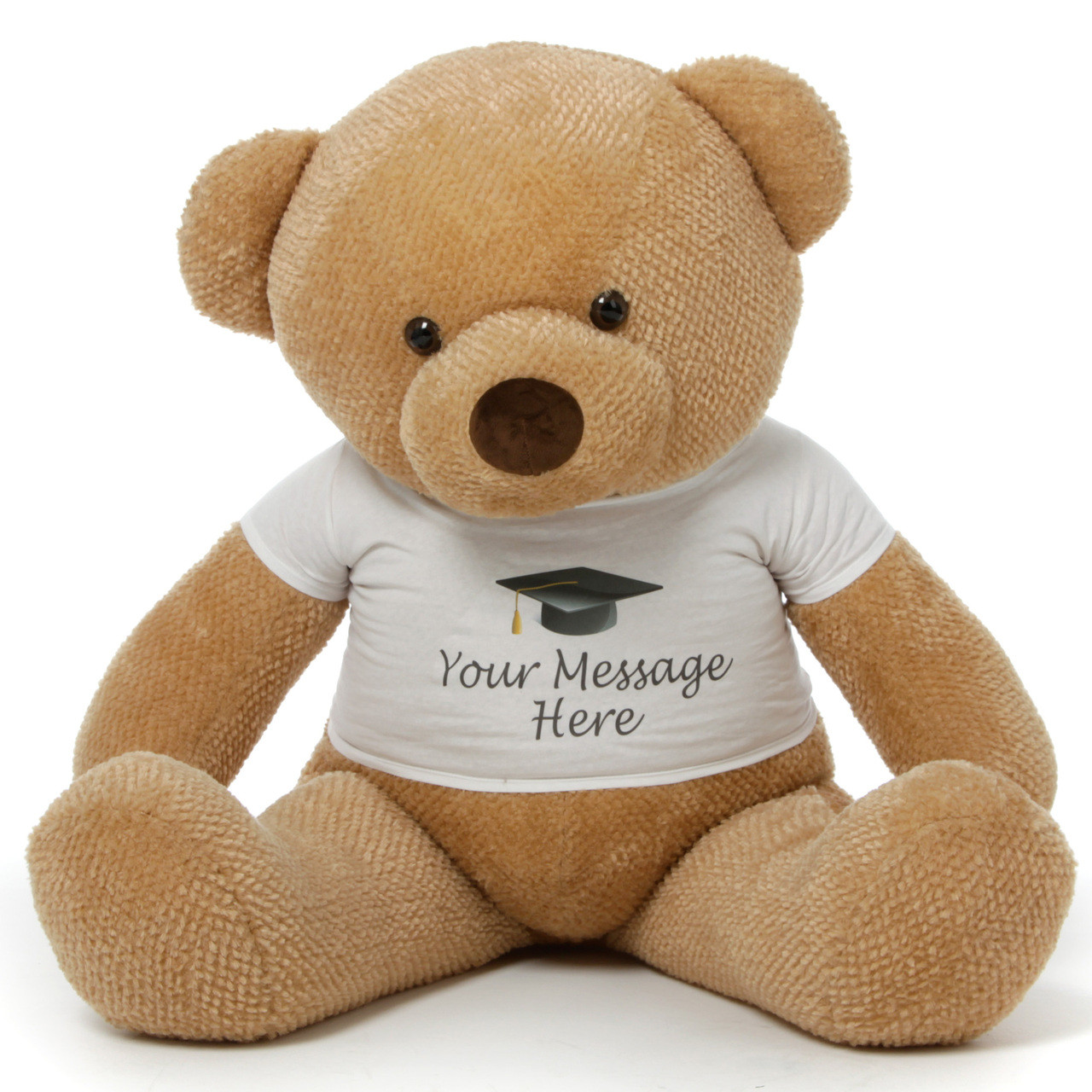 48in Personalized Chubs Graduation Bear, Amber