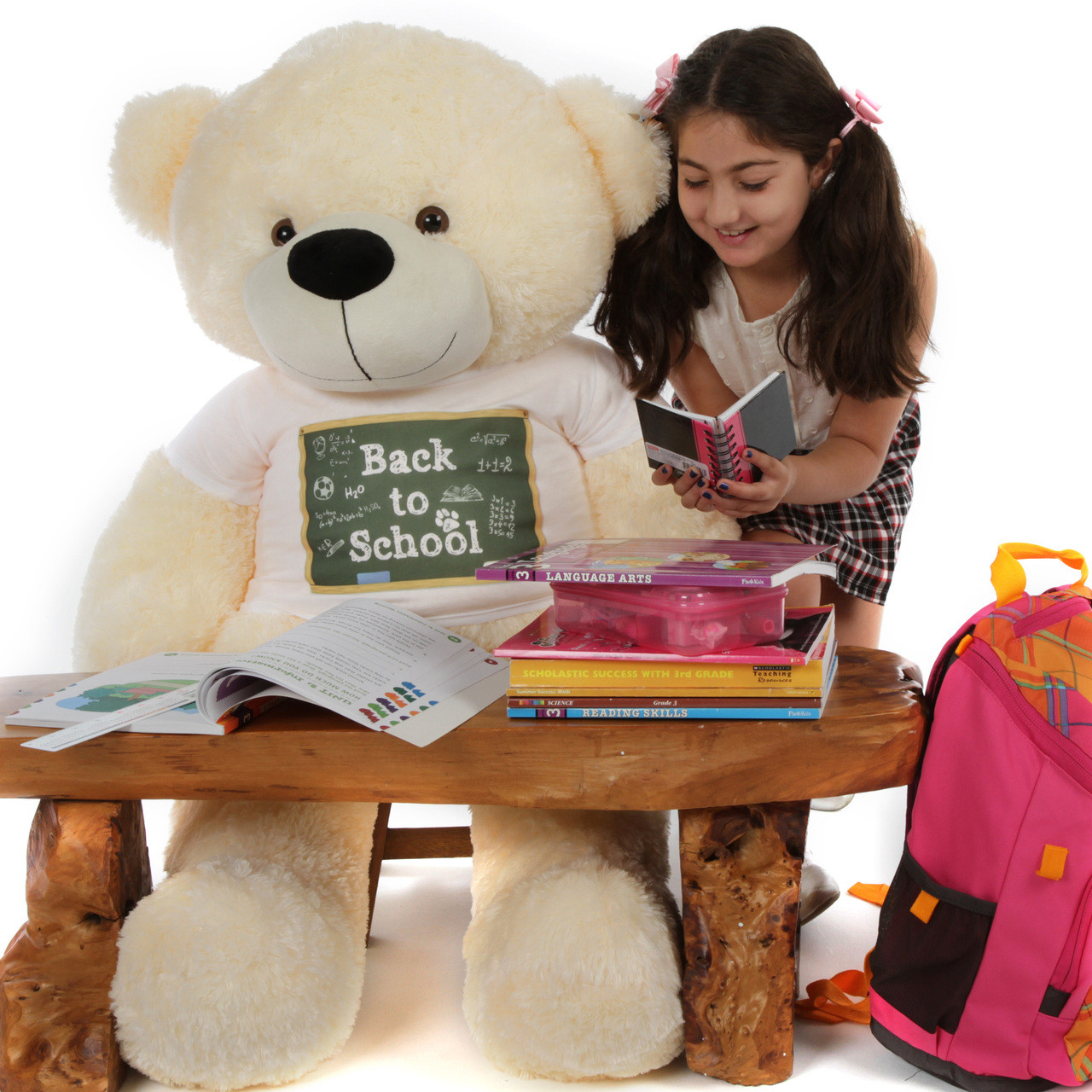 Back to School Huge Teddy Bear
