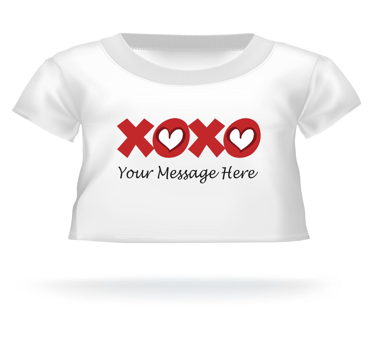 Giant Teddy XOXO personalized Tshirt