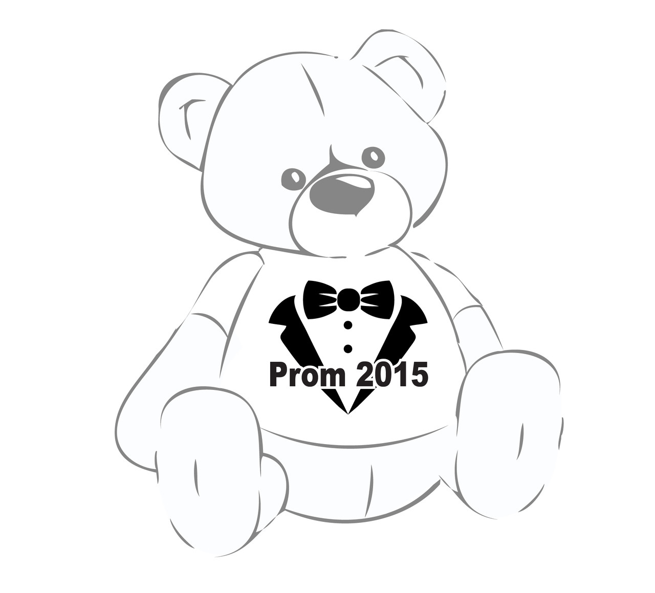 Prom 2015 shirt for any Giant Teddy Bear