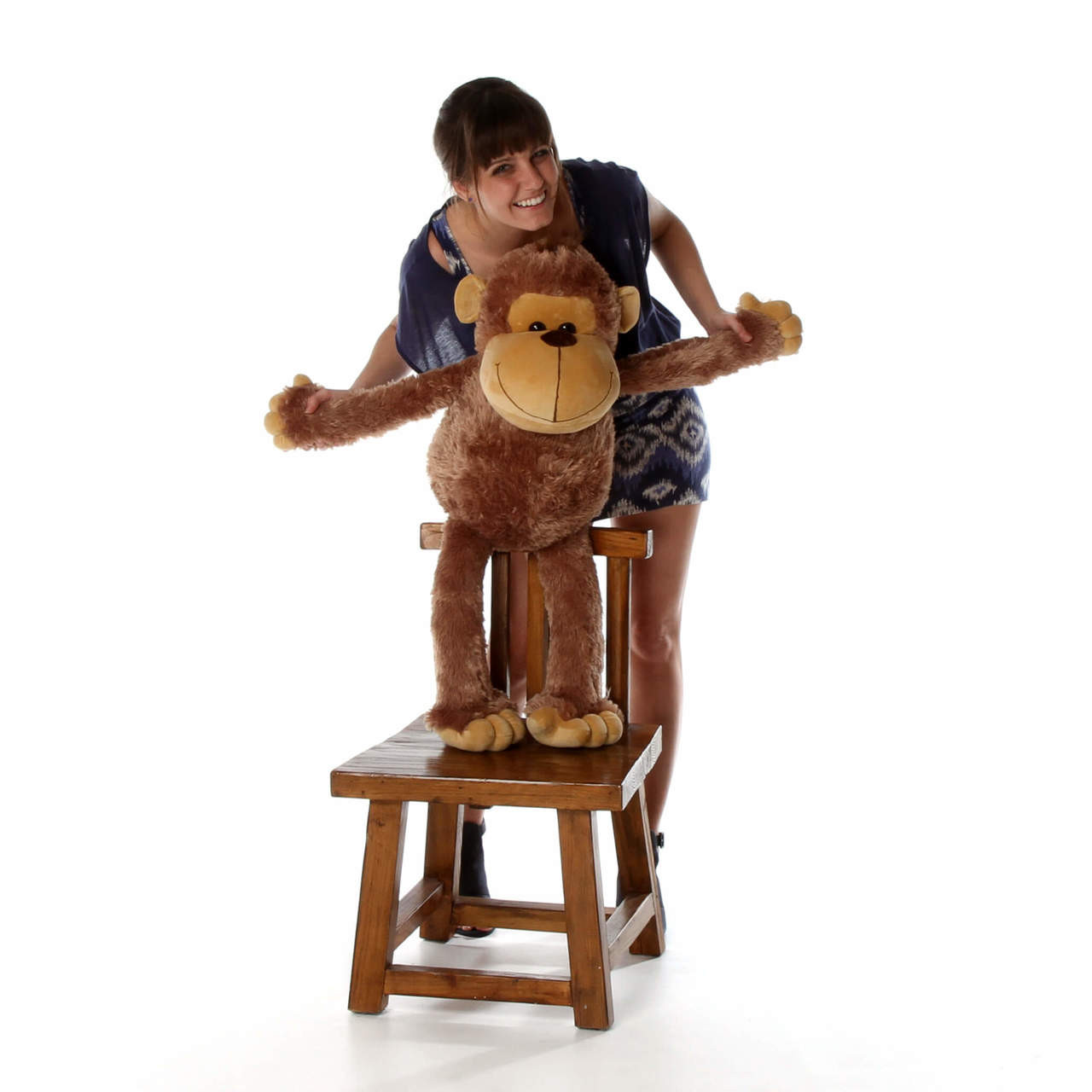 Big Stuffed Monkey, Silly Sammy