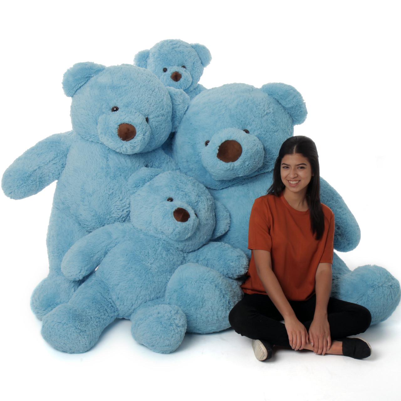 Chubs Blue Family