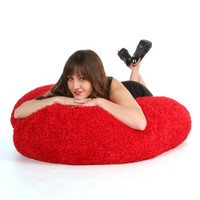 56in Diagonally Measured Giant Heart Cushion for Valentine's Day