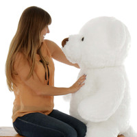 48in Chubs White Teddy Bear (Model NOT included)