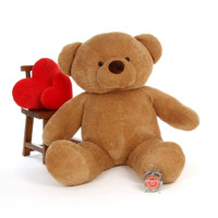 Big Amber Teddy Bear Cutie Chubs 60in