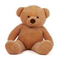 Cutie Chubs Adorable Life Size Amber Teddy Bear 5ft
